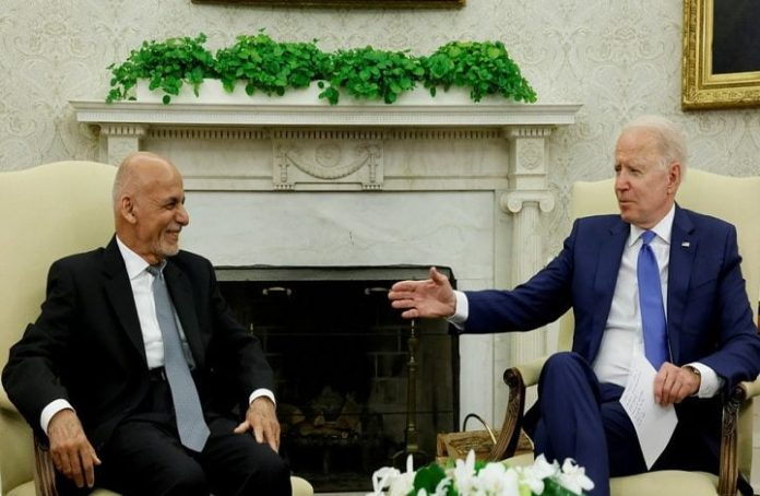Biden affirms continued US support for Afghan government