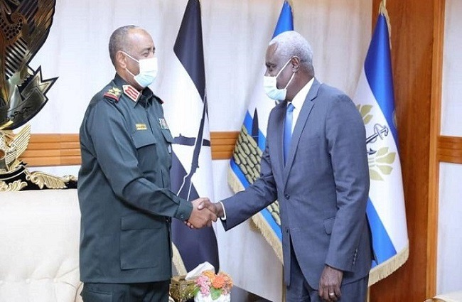 Head of Sudan Sovereignty Council hails AU's role in addressing African issues