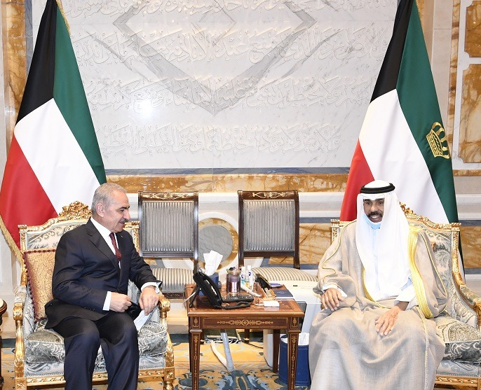 Kuwait's Emir reaffirms unwavering support to just Palestinian cause