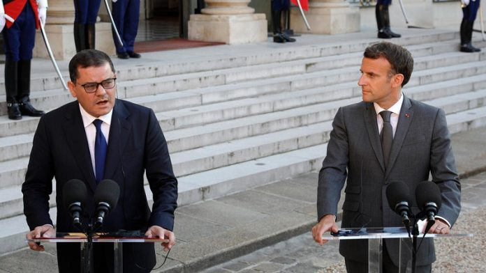 Macron affirms France's support to Libya, calls for withdrawal of mercenaries