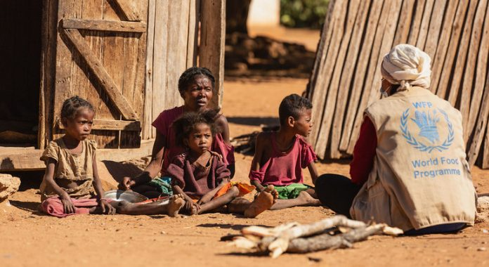 Madagascar's hungry 'holding on for dear life', WFP chief warns
