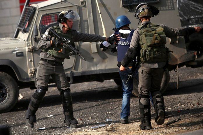 PJS documents 337 Israeli violations against Palestinian journalists