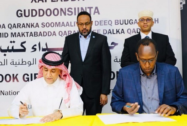 Qatar National Library donates over 4,000 books to Somali National Library