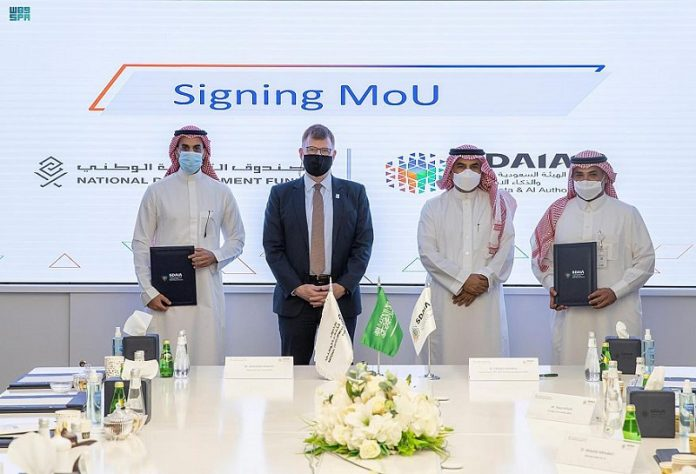 SDAIA signs MoU with National Development Fund