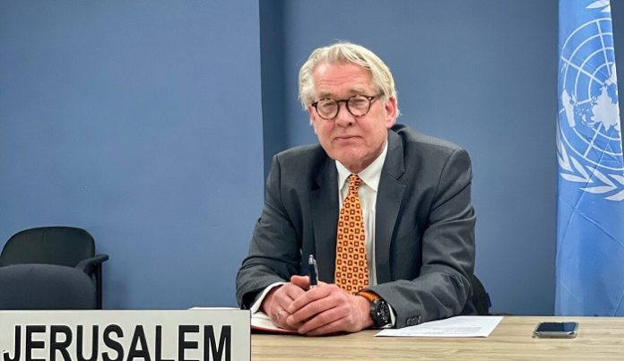 UN Special Coordinator welcomes steps to de-escalate situation in Gaza