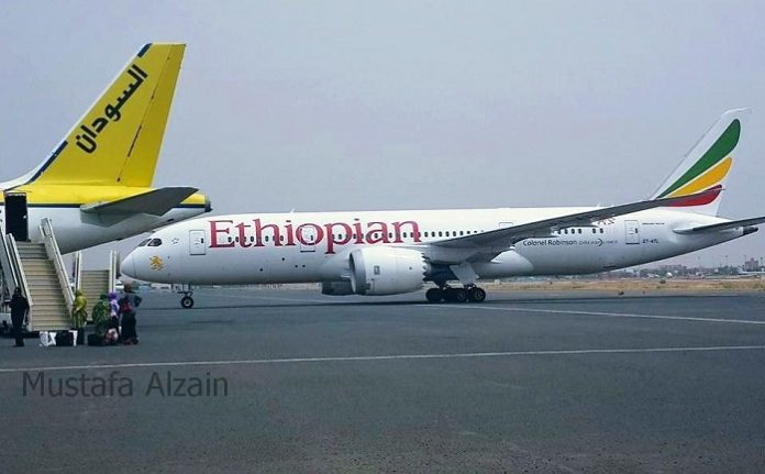 12 Ethiopian planes make emergency landings at Khartoum Airport