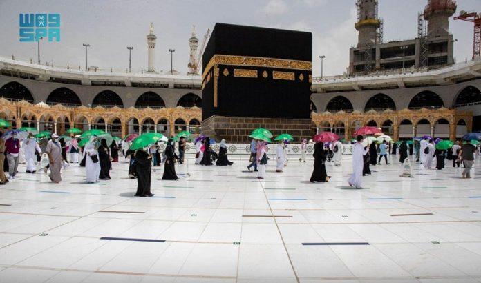 Hajj pilgrims flock to Makkah Grand Mosque to perform Tawaf al-Wada
