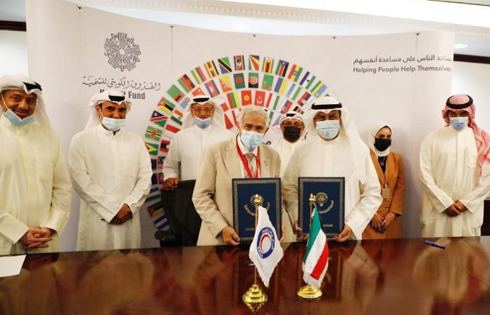 Kuwait Fund signs $1.2 million grant agreement with KRCS to support Rohingya