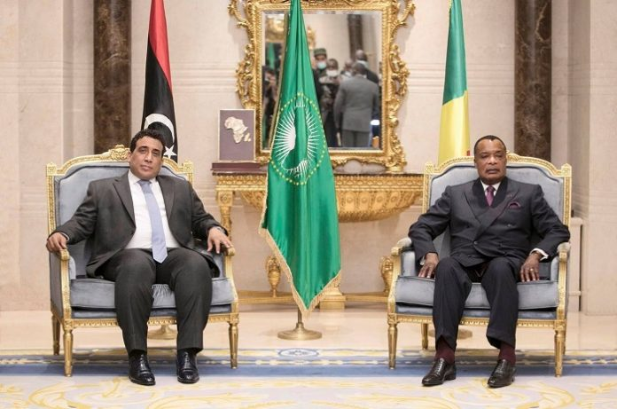 President of Congo-Brazzaville receives head of Libya's Presidential Council