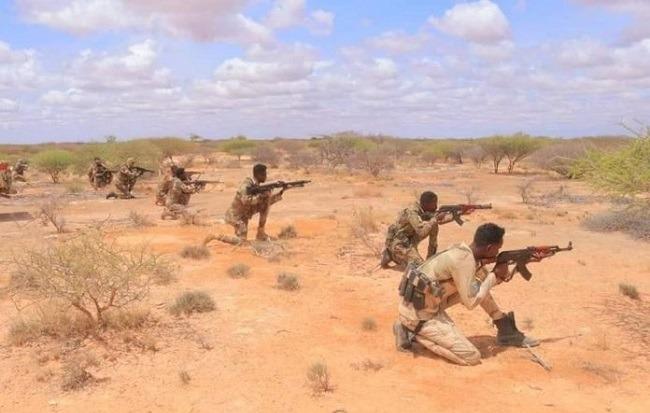 Somali army kills 15 al-Shabaab terrorists in Galgaduud region