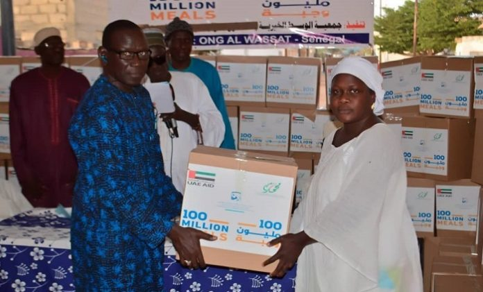 UAE distributes over 750,000 food parcels in African states as part of '100 Million Meals' campaign