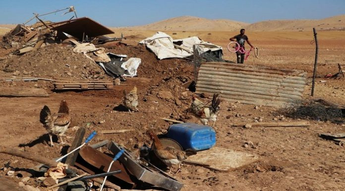 UN expert condemns Israel's repeated demolition of Palestinian Bedouin property