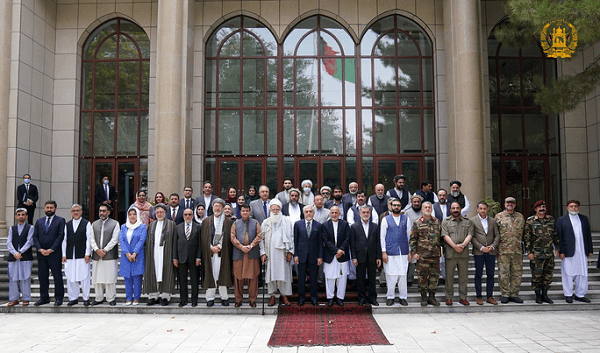 Afghan political leaders drum up support for security and defense forces