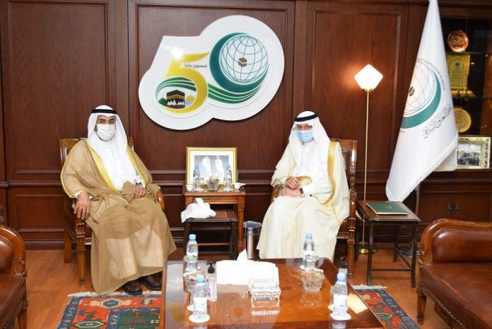 Al-Othaimeen, Al-Hajraf discuss strengthening cooperation between OIC and GCC