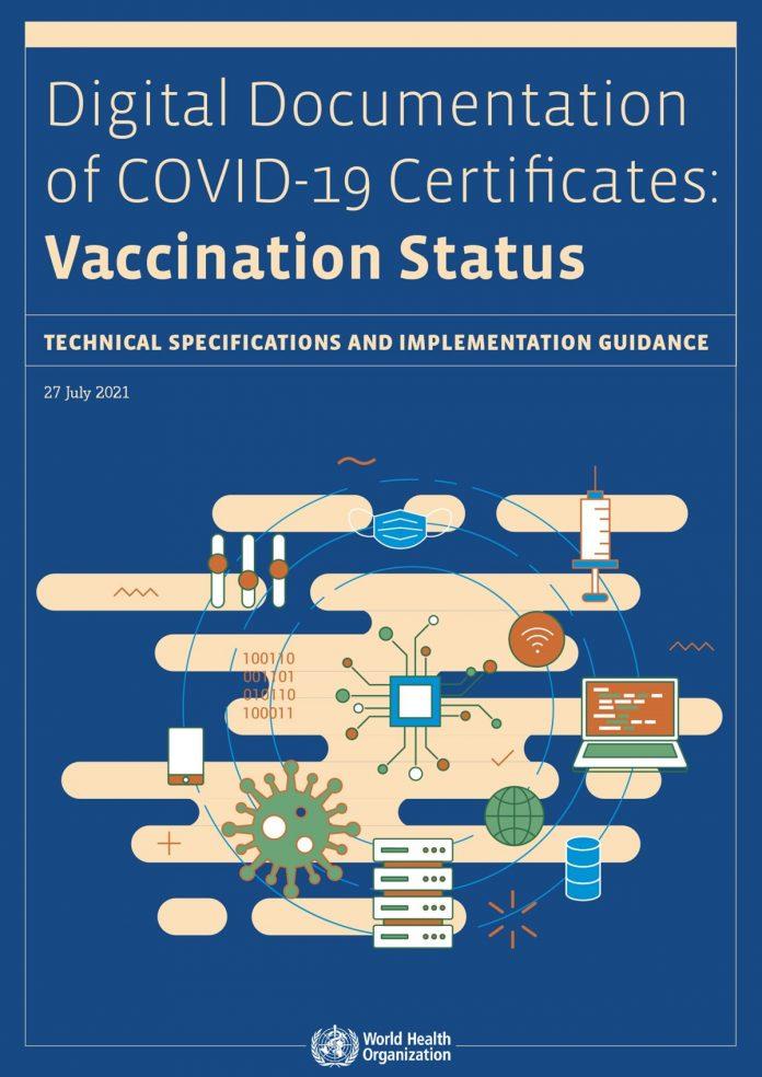 Moving towards digital documentation of COVID-19 status