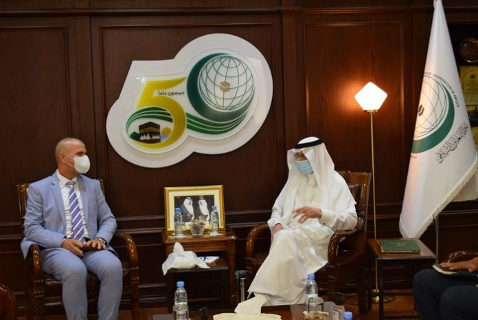 Al-Othaimeen receives Deputy Permanent Representative of Morocco to OIC