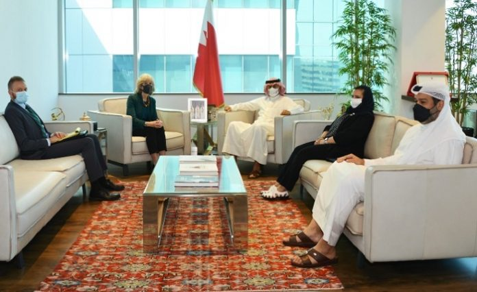 Bahraini minister, US diplomat discuss matters of mutual interest