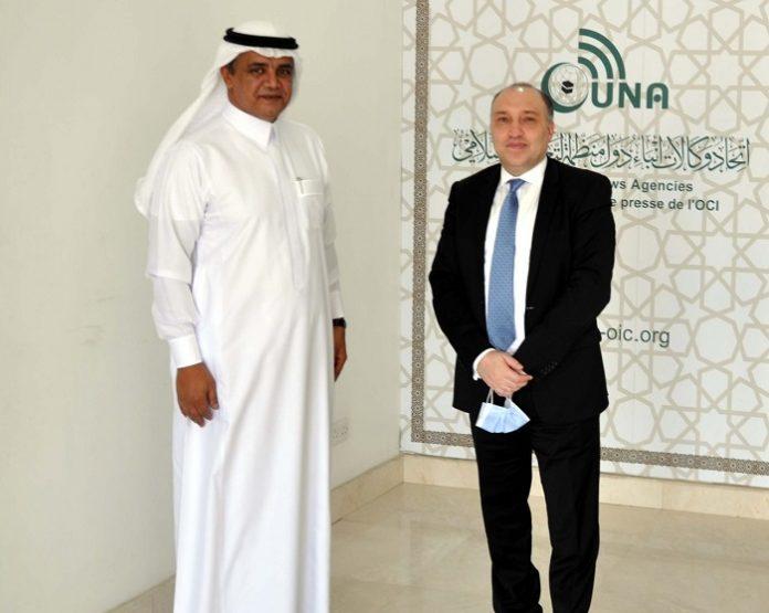 Consul General of Lebanon in Jeddah visits UNA headquarters