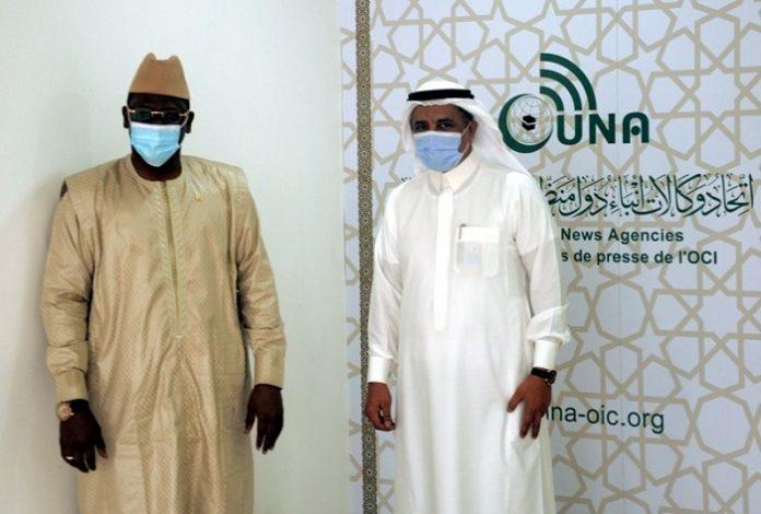 Consul General of Senegal in Jeddah visits UNA