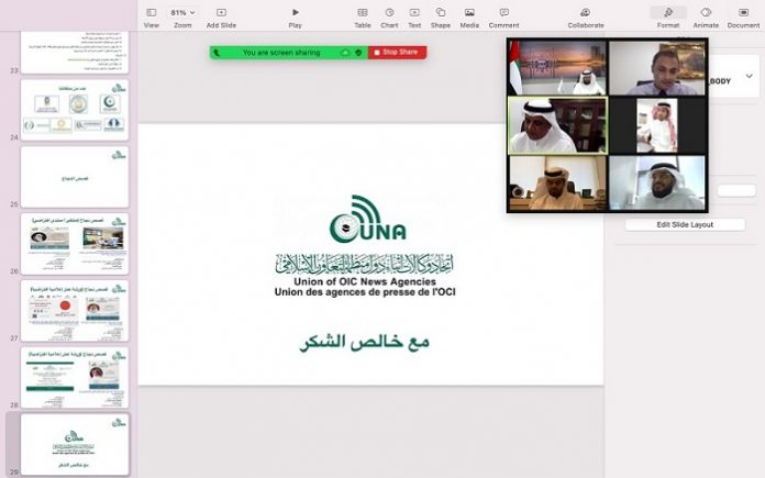 Director-General of Emirates News Agency briefed on UNA's Strategic Vision
