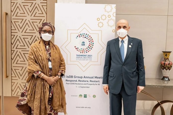 IsDB President meets Nigerian Finance Minister in Tashkent