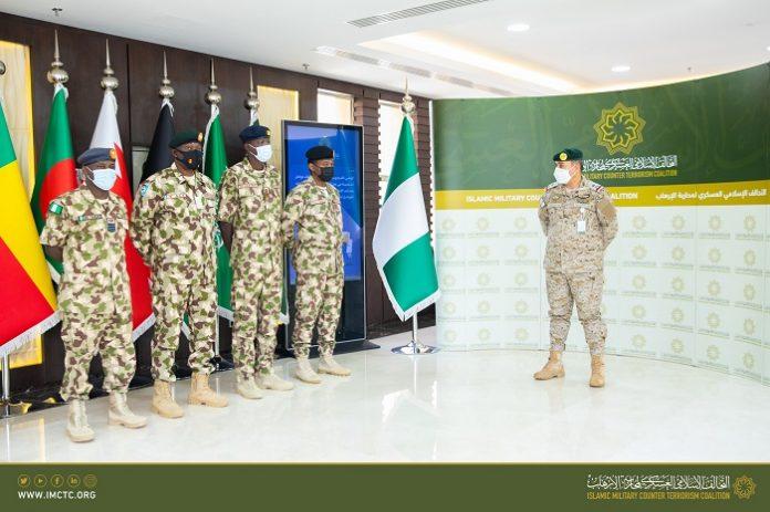 Islamic Military Counter Terrorism Coalition receives Nigeria's delegates