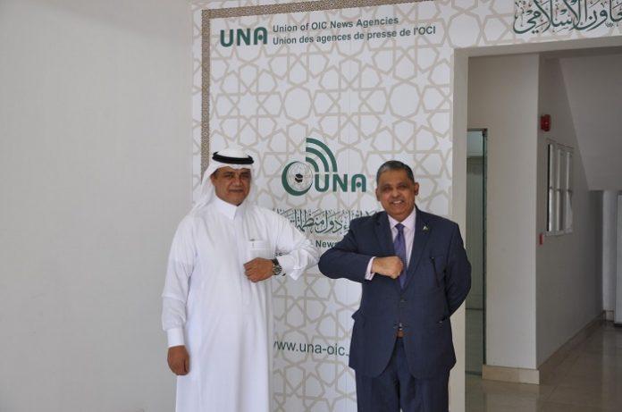 Pakistan's Ambassador to Saudi Arabia visits UNA Headquarters