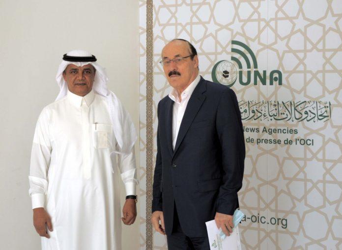 Permanent Representative of Russia to OIC visits UNA headquarters