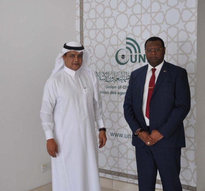 Consul General of the Republic of Gabon in Jeddah visits UNA