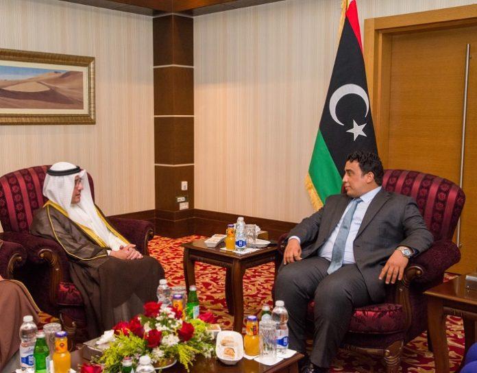 Kuwait FM meets Chairman of Libyan Presidential Council in Tripoli